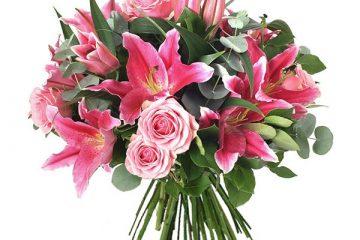 Ramo de flores para regalar en un cumpleaños