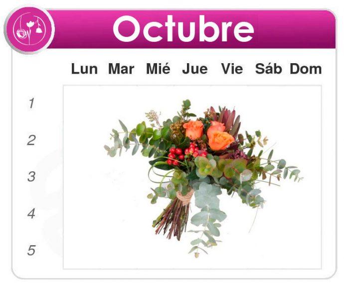 Suscripción de flores Octubre